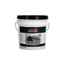 Green - Premium One Coat 100% Acrylic Barn & Fence Paint - 1 Gallon