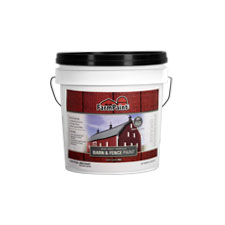 Red - Premium One Coat 100% Acrylic Barn & Fence Paint - 1 Gallon