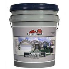 Gray Acrylic Elastomeric Foundation Coating - 5 Gallon