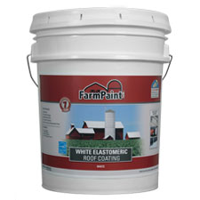 7-Year White Elastomeric Roof Coating - 5 Gallon
