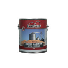 5-Year Fibered Aluminum Roof Coating - 1 Gallon