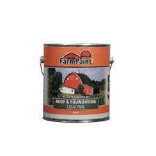Non-Fibered Roof, Fence and Foundation Coating - 1 Gallon