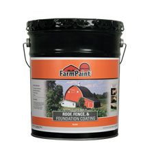 Non-Fibered Roof, Fence and Foundation Coating - 5 Gallon