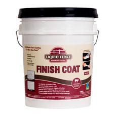 Liquid Fence Rubberized Coating - Finish Coat - White - 5 Gallon