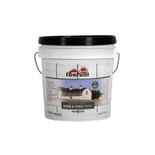White - Premium One Coat 100% Acrylic Barn & Fence Paint - 1 Gallon