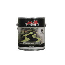 Asphalt Fence Paint - 1 Gallon