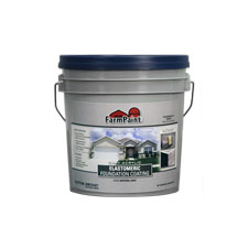 Gray Acrylic Elastomeric Foundation Coating - 1 Gallon