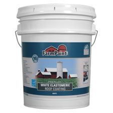 10-Year Premium White Elastomeric Roof Coating - 5 Gallon