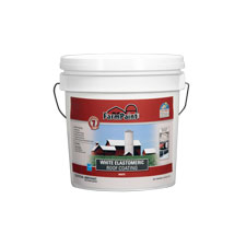 7-Year White Elastomeric Roof Coating - 1 Gallon