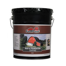 Fibered Roof and Foundation Coating - 5 Gallon